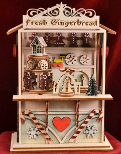 Gingerbread Town Music Box