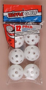 12 Pack Wiffle Golf Balls