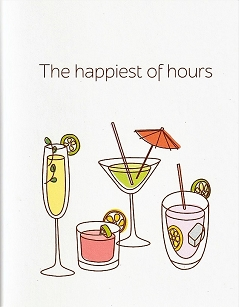 Cocktails The happiest of hours