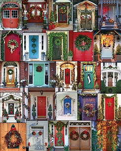 Holiday Doors 1000 Piece