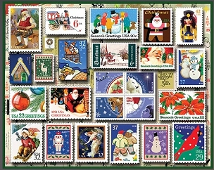 Holiday Stamps 550 Piece