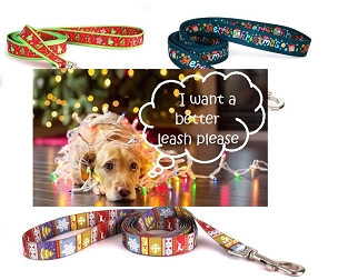 Holiday Dog Leads - 1