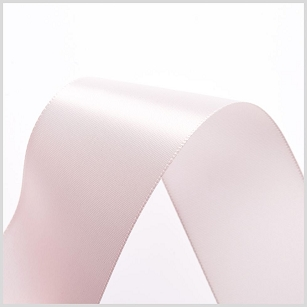 Ice Pink Double Face Satin Ribbon