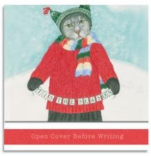 Matchbook Notepad - Jolly Cat