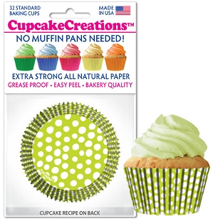 Baking Cups Standard Key Lime