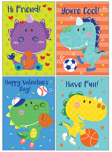 KID'S VALENTINE PACK - DINO