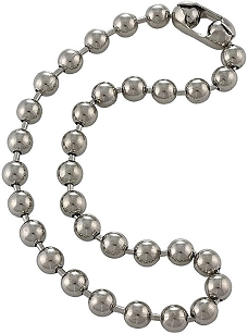 Large Ball Chain Necklace 18