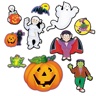Halloween Cutouts for Kids