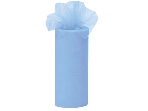 Tulle Ribbon Light Blue