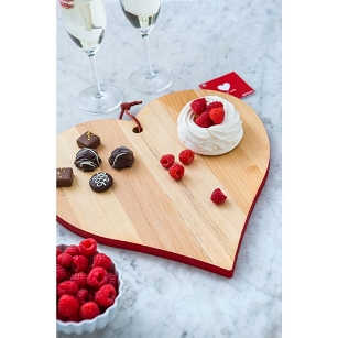 Maple Heart Shape Cutting Board