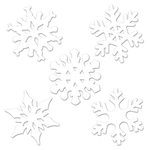 Mini Snowflake Cutouts