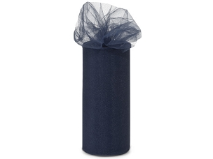 Tulle Ribbon Navy Blue