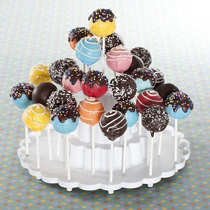 Tiered Cake Pops Display Stand