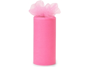 Tulle Ribbon Paris Pink