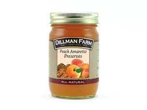 Peach Amaretto Preserves