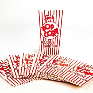 Old-Fashioned Popcorn Boxes - Pack of 10
