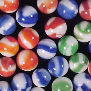Marbles - Variegated Color Marbles