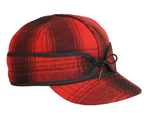 Red & Black Original Stormy Kromer Cap