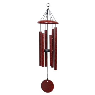 Red Splash Corinthian Bells® Windchime
