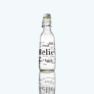 Believe Love Bottle