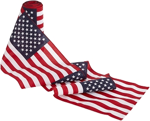 U.S. Flag Bunting-wide