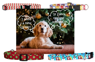 Holiday Dog Collars - Small