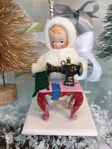 Elaine Roesle Snow Children - Sewing For Santa