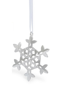 Pewter Snowflake Ornament (#2)