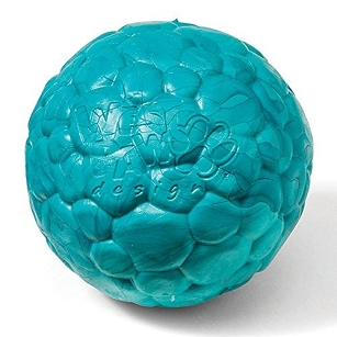 Boz Ball Dog Toy Teal Small