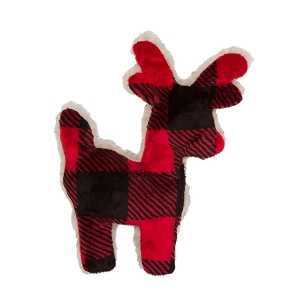 Tiny Tuff Reindeer Dog Toy
