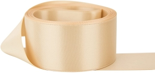 Wheat Single Face Satin Ribbon