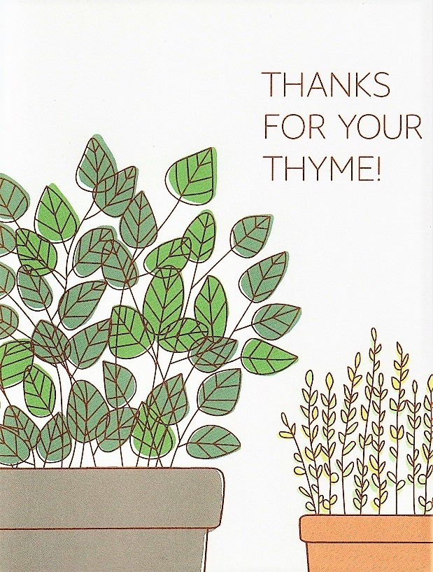 Thanks For Your Thyme