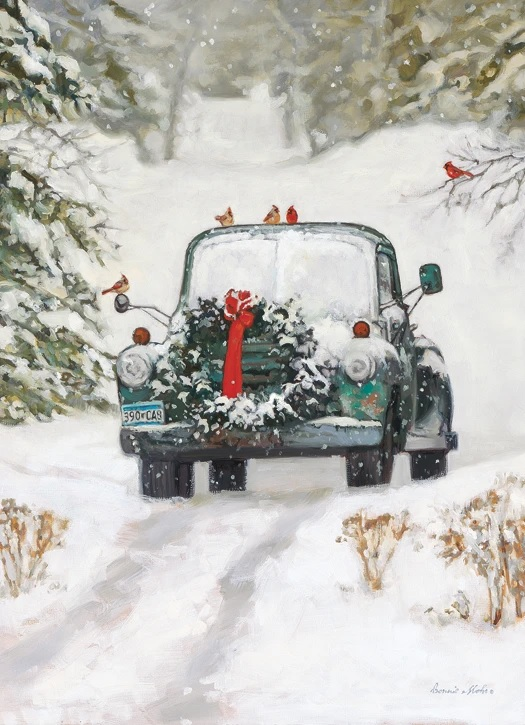 Christmas Truck Boxed Cards