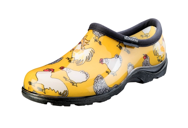 Yellow Chicken Garden Shoe